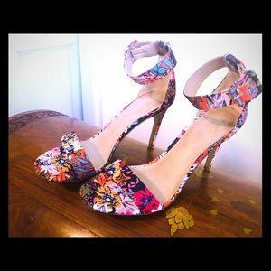 Shoes - Vibrant Floral Print Shoes